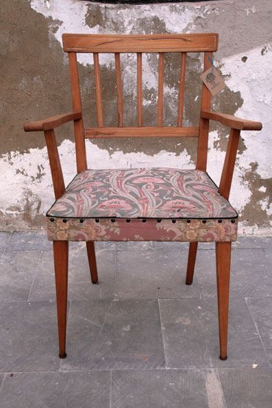 butaca años 50, Mù Restauración, murestauracion, mu restauracion, vintage