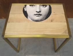 mesa Fornasetti, Mù Restauración, murestauracion, Mu Restauracion, frente 2