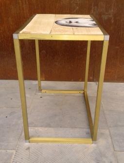 mesa Fornasetti, Mù Restauración, murestauracion, Mu Restauracion, perfil