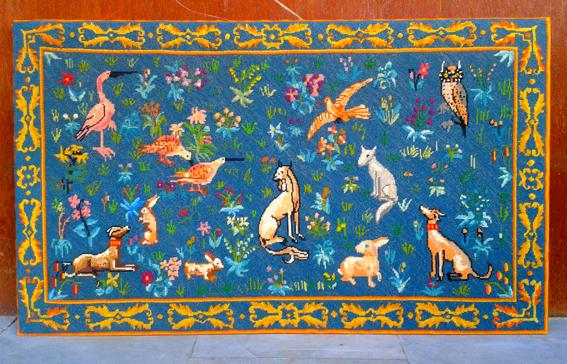 Tapiz animalitos (flora y fauna), Mù Restauración, Mu Restauracion, murestauracion