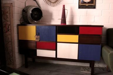 Aparador Mondrian, 3, Mù Restauración, Mu Restauracion, murestauracion