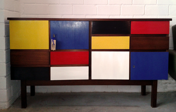 Aparador Mondrian, 4, Mù Restauración, Mu Restauracion, murestauracion