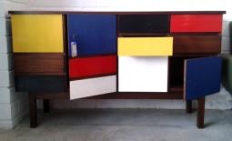 Aparador Mondrian, 5, Mù Restauración, Mu Restauracion, murestauracion