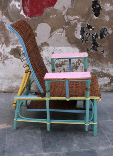 chaiselongue junco natural, perfil, Mù Restauración, murestauracion, Mù, mùrestauración