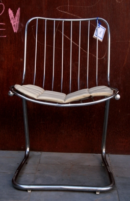 Silla metal cromado,2, Mù Restauración, murestauracion, vintage