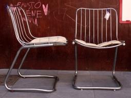 Silla metal cromado,4, Mù Restauración, murestauracion, vintage