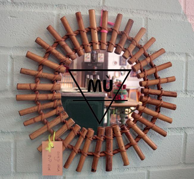Espejo Caña, 2,  Caña, Mù, Mù Restauración, murestauracion, vintage