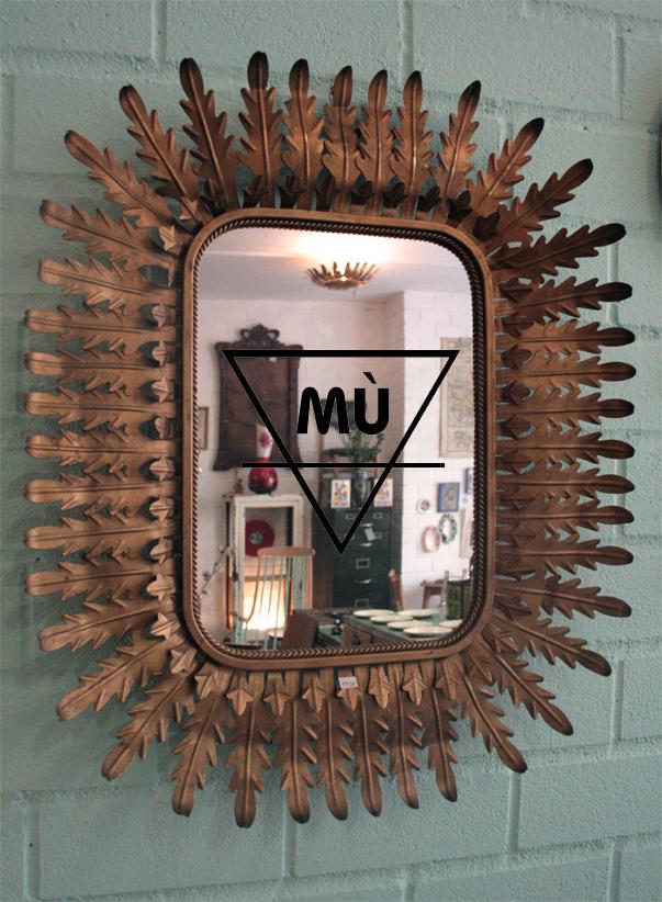 Espejo Sol, Mù, Mù Restauración, murestauracion, vintage, 2