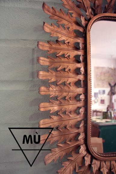 Espejo Sol, Mù, Mù Restauración, murestauracion, vintage