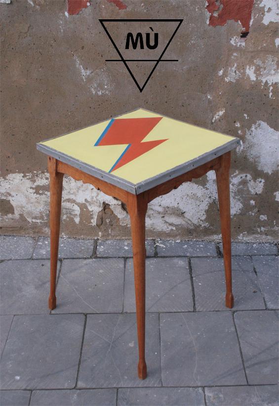 Mesa Bowie, Mù , murestauracion, Mù Restauración, mesa
