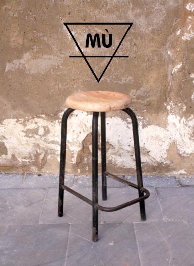 Taburete Industrial, Mù, murestauracion, Mù Restauración