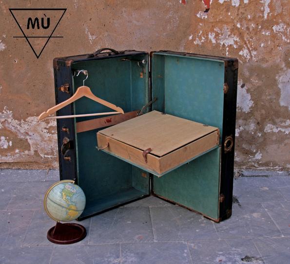 MÙ baúl viaje, Mù Restauración, murestauracion, mu, Mù